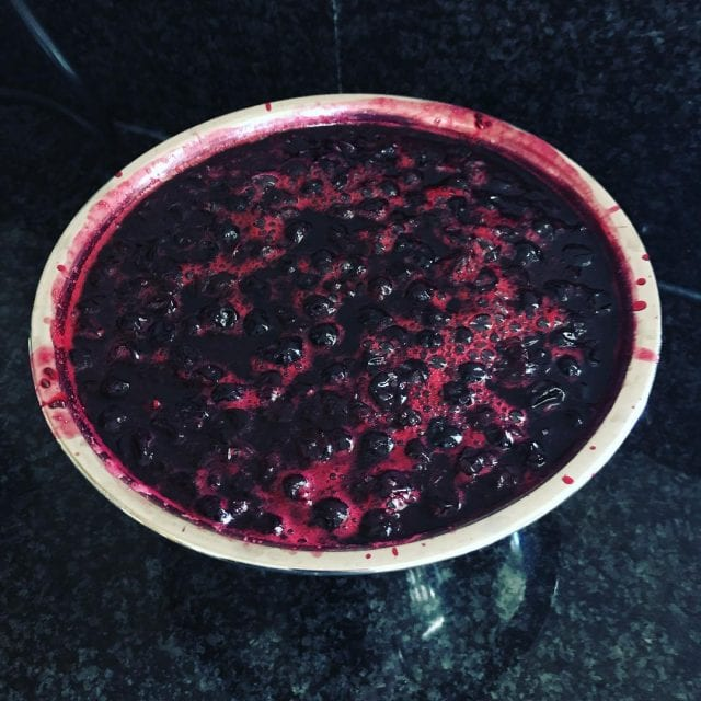 Home made jam from home grown berries AnotherSkill SVA