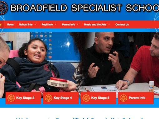 Broadfield Specialist School Website