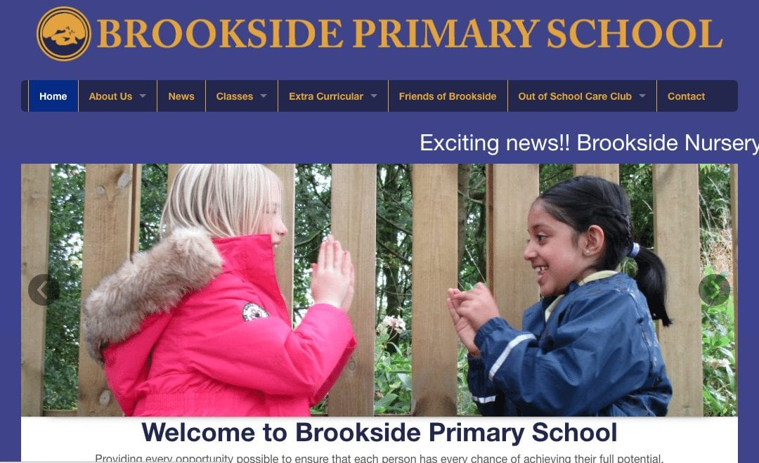 Brookside Primary School Website