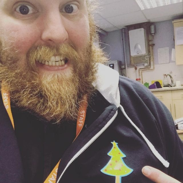 A Christmas Tree Sticker better than team points apparently!! SchoolITSupporthellip